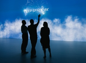 Deep Space 8K opening/ © Ars Electronica