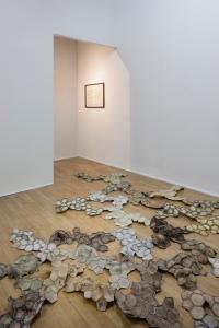 """Ausstellungsansicht """"Ella Littwitz. Tomograma"""", Salzburger Kunstverein 2016, Foto: Andrew Phelps, © Salzburger Kunstverein"""
