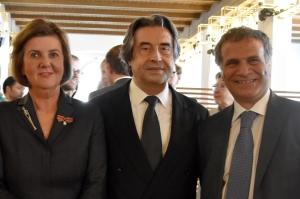 Helga Rabl-Stadler_Riccardo Muti_Giorgio Marrapodi_by Anne Zeuner_
