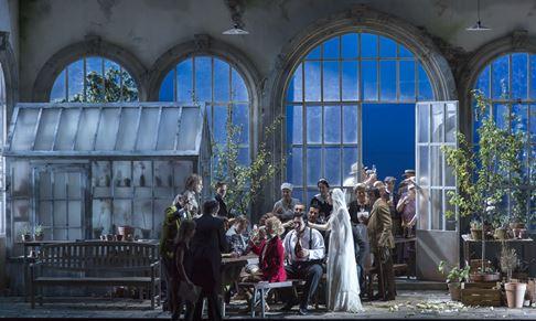 Le nozze di Figaro 2016 • Ensemble © Salzburger Festspiele / Ruth Walz